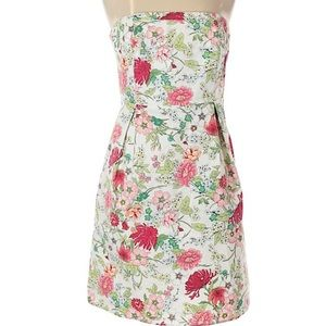 WOMEN'S SIZE 8 OLD NAVY STRAPLESS FLORAL SUNDRESS